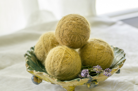 How to Make Wool Dryer Balls - So Easy & So Cheap   straw bale gardening   Scoop.it