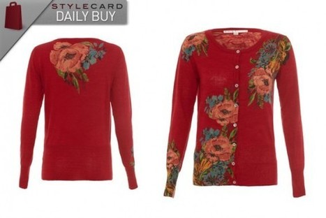 Daily Buy: Uttam Boutique Floral Print Cardigan | StyleCard Fashion Portal | StyleCard Fashion | Scoop.it