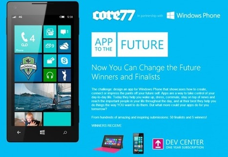 App to the Future Windows Phone design winners announced | Windows Phone Central | timms brand design | Scoop.it
