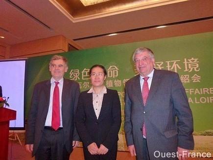Vegepolys affiche ses ambitions jusqu'en Chine - Angers.maville.com | Patrimoine Végétal et Biodiversité | Scoop.it
