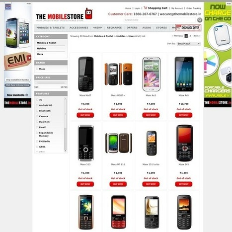 Maxx Mobiles phones with best price in India | Mobile & Tablets | Scoop.it