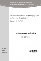 Les langues de spécialité en Europe : Apliut 32 (1) | TELT | Scoop.it