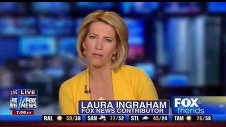 Ingraham: Obama 'putting a gun to the head of the American people' | The Raw Story | News You Can Use - NO PINKSLIME | Scoop.it