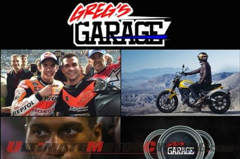 Greg's Garage #42   Marquez, Stewart, Mees & Ducati Scrambler - UltimateMotorcycling.com (blog)   California Flat Track Association (CFTA)   Scoop.it