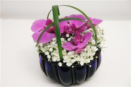 Flower arrangement with orchids | Flower Arrangements | Scoop.it