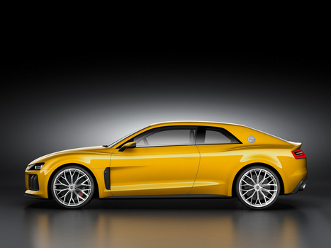 Audi Sport Quattro concept highlights 30 years of tech progress - CNET | Sport Unlimited | Scoop.it