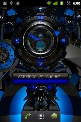 DRAGON designer clock widget v2.11 (paid) apk download | ApkCruze-Free Android Apps,Games Download From Android Market | laser clock blue dragon | Scoop.it