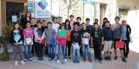 St-Ambroix : la classe de 6e patrimoine au collège Armand-Coussens - Midi Libre   Utiliser le patrimoine local cévenol pour enseigner   Scoop.it