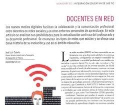 Internet (como recurso) Docente: Docentes en red (1): redes sociales, comunidades de práctica y aprendizaje informal. | Educadores innovadores y aulas con memoria | Scoop.it