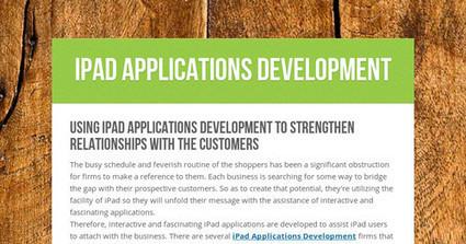 iPad Applications Development | iPad Applications Development | Scoop.it