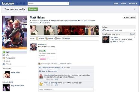 una mirada a los cambio de aspecto de Facebook – Pasado y Presente | Aprendiendo sobre Social Media | Scoop.it