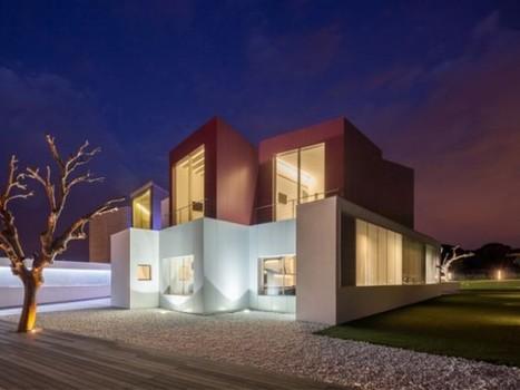 Une villa multi-facettes habilement mise en lumière | Construire sa maison avec un architecte | Scoop.it