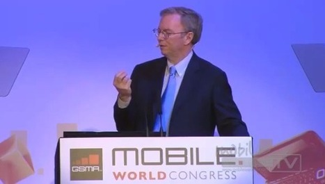 Check out Eric Schmidt's must-see, visionary Mobile World Congresskeynote | Entrepreneurship, Innovation | Scoop.it