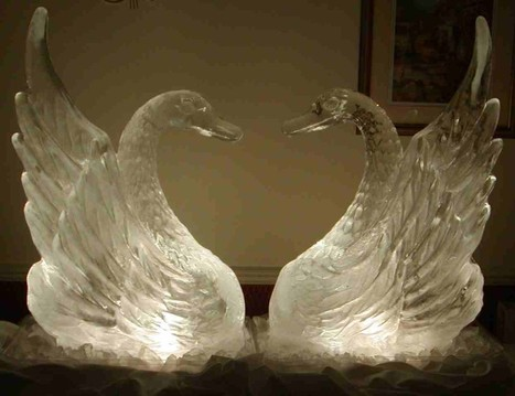 6 Awesome Ice Styling Tips for Wedding Decoration | Ice Sculpture and Chocolate Fountain | Scoop.it