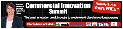Get to know Nils' work at his upcoming INNOVATION SUMMIT in Sydney, Australia. Hurry, register now! | Innovation Blueprint | Ideas with Legs | Innovation in Business | Scoop.it