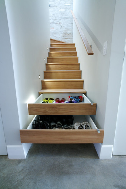 Stair Drawers | Crazy Inventions | Scoop.it