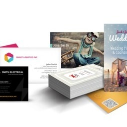 Business cards Printing - 500 Matt laminated coloured €35 | Print365 | Scoop.it
