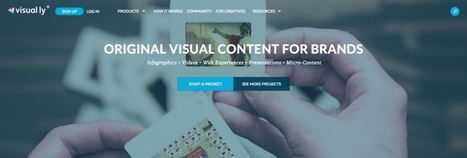 Visually Raises $3.3M As Its Content Marketplace Expands Beyond Infographics - TechCrunch | Content Marketing News | Scoop.it
