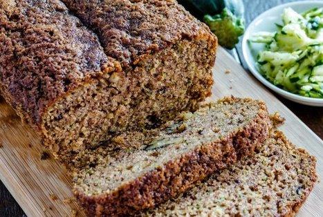 Vegan Coconut Zucchini Chocolate Chip Bread | Vegan Food | Scoop.it
