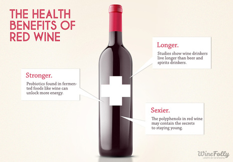 Stay Young With The Health Benefits of Red Wine | Wines and People | Scoop.it