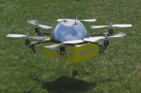 Delivery Drones Allowed to Fly in the U.S. Starting Next Month - Drone 360 | Reverse Logistics | Scoop.it