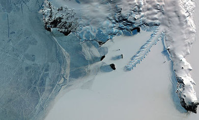 Antarctic ice melting at record rate, study shows   GEP   Scoop.it