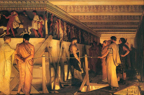 Three Pipe Problem: Phidias flaunts the freize | Art in Ancient Greece and Rome | Scoop.it