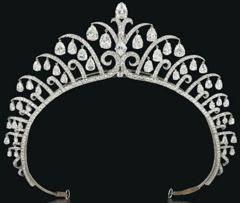 Diamonds in the Library: Amazing Art Deco tiara by Cartier. | Beautiful art and Architecure | Scoop.it