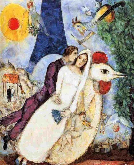 Lumea visată a lui Chagall, în marile muzee | Artiști Veritabili | Scoop.it