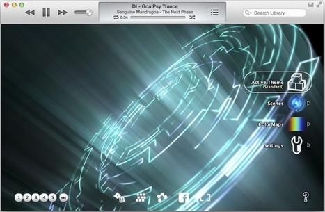 Stunning iTunes Visualizers for Mavericks, iTunes 11 | Macstuff | Scoop.it