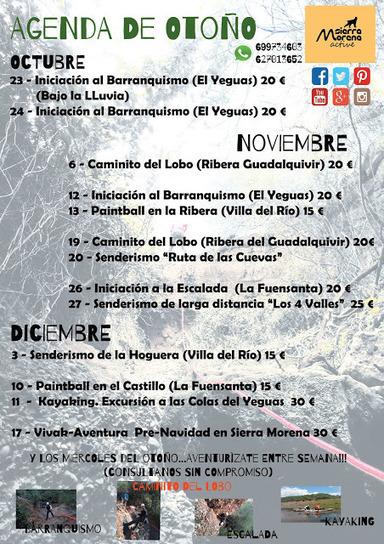 Agenda de Otoño Sierra Morena Active | Blogs de naturaleza | Scoop.it