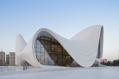 new images of heydar aliyev center by zaha hadid - designboom | architecture & design magazine | retail and design | Scoop.it