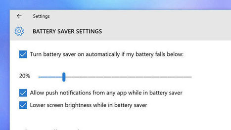 How to Maximize Battery Life on Windows 10 | News we like | Scoop.it