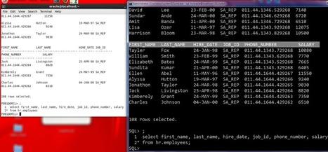 #Oracle #SQLcl | Administración de una Base de Datos Oracle | Scoop.it