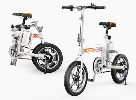 Hard to Build Noah's Ark to People, Easy to Provide Airwheel Smart Electric Powered Bicycles to People | Press Release | Scoop.it