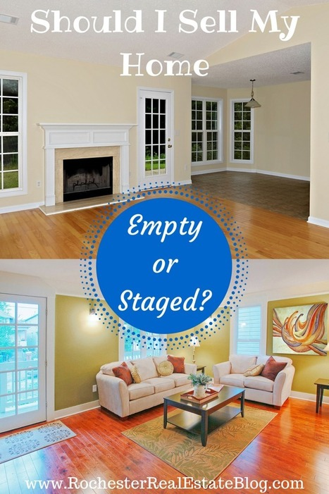 Is It Better To Sell A Home Empty Or Staged? | Real Estate | Scoop.it