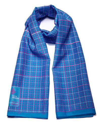 Erik Spiekermann scarves are printed like wearable graph paper | What's new in Visual Communication? | Scoop.it
