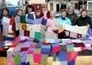 Limerick city centre park transformed into a colourful array of knitwear - Limerick Leader | Knitting | Scoop.it