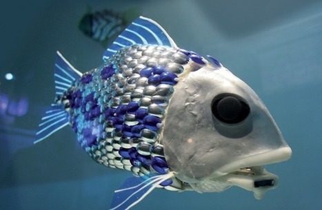 Robot Fish Will Clean Polluted Waters, Render Pool Boys Irrelevant | Robots and Robotics | Scoop.it
