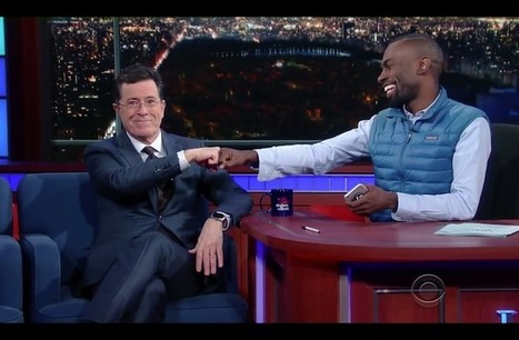 ICYMI: Watch Activist DeRay McKesson School Stephen Colbert on White Privilege | Community Village Daily | Scoop.it