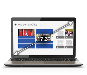 Toshiba Satellite S70-BST2GX1 Review - All Electric Review | Laptop Reviews | Scoop.it