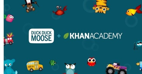 Kids app maker Duck Duck Moose joins Khan Academy | The 21st Century | Scoop.it