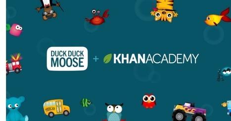 Kids app maker Duck Duck Moose joins KhanAcademy | The 21st Century | Scoop.it