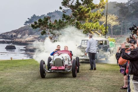Classic cars represent an end of an era at the Pebble Beach Concours d'Elegance | Heron | Scoop.it