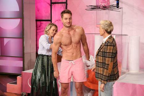 VIDEO: Justin Hartley Shirtless on Ellen DeGeneres Show - Shirtless Hunk Photos | Shirtless Hunk Photos | Scoop.it
