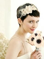 Short Hair Wedding Styles | Short Hair Trends | Short Hairstyles | Short Haircuts | Destination Wedding Hairstyles | Scoop.it