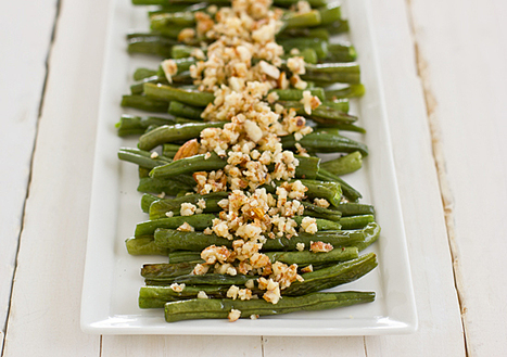Green Beans with Lemon-Almond Pesto   Healthy Whole Foods   Scoop.it