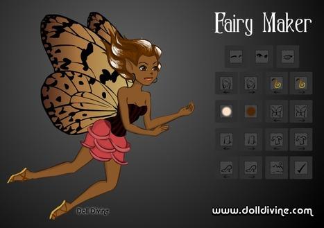 Fairy Maker ~ Doll Divine | Digital Delights - Avatars, Virtual Worlds, Gamification | Scoop.it