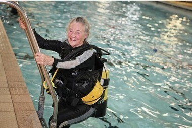 Bristol woman takes plunge to become scuba instructor at 75 - This is Bristol | ScubaObsessed | Scoop.it