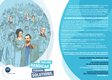 Campagne de communication interne sur le handicap invisible - CNRS | Veille Handicap SIDRA | Scoop.it